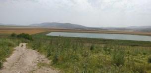 תצפית מתל חנתון - רחוק:- הר תורען, רומת אל הייב, והושעיה. קרוב:-נחל יפתחאל ואגם מלאכותי