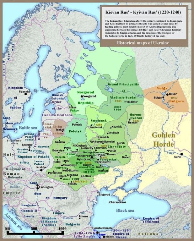 Rus' principalities before the Mongol and Lithuanian invasions מפה:SeikoEn