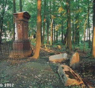 Smilovichi, Belarus. Jewish cemetery. Photo: Jewish Heritage Research Group (2007).