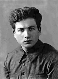 Head of the Minsk ghetto Mikhail Gebelev