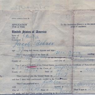 Affidavite by Jacob Bobrov for Abraham Zalman