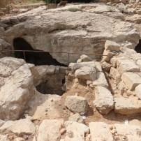 Caves, baths and columbarium