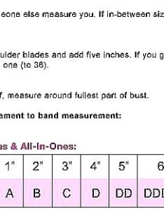 Size charts also cjust my pure comfort seamless wirefree bra rh hosieryandmore