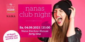 NANAs Club Night @ Queer Bar forty nine