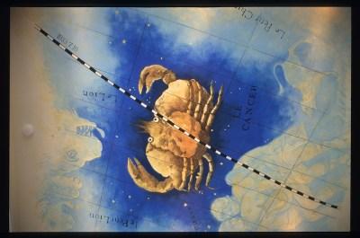 蟹座の天井画 完成図