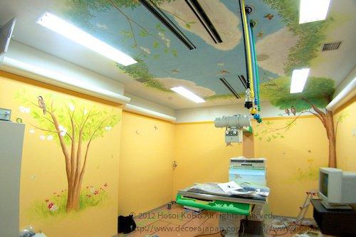ホスピタルアート:こども病院 壁画