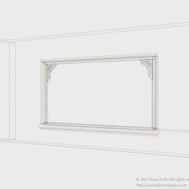 窓枠部分の設計