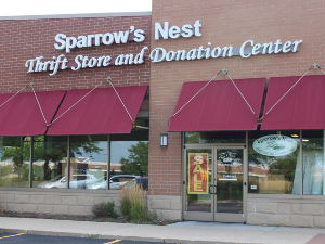 Sparrows Nest Thrift Stores  Home of the Sparrow