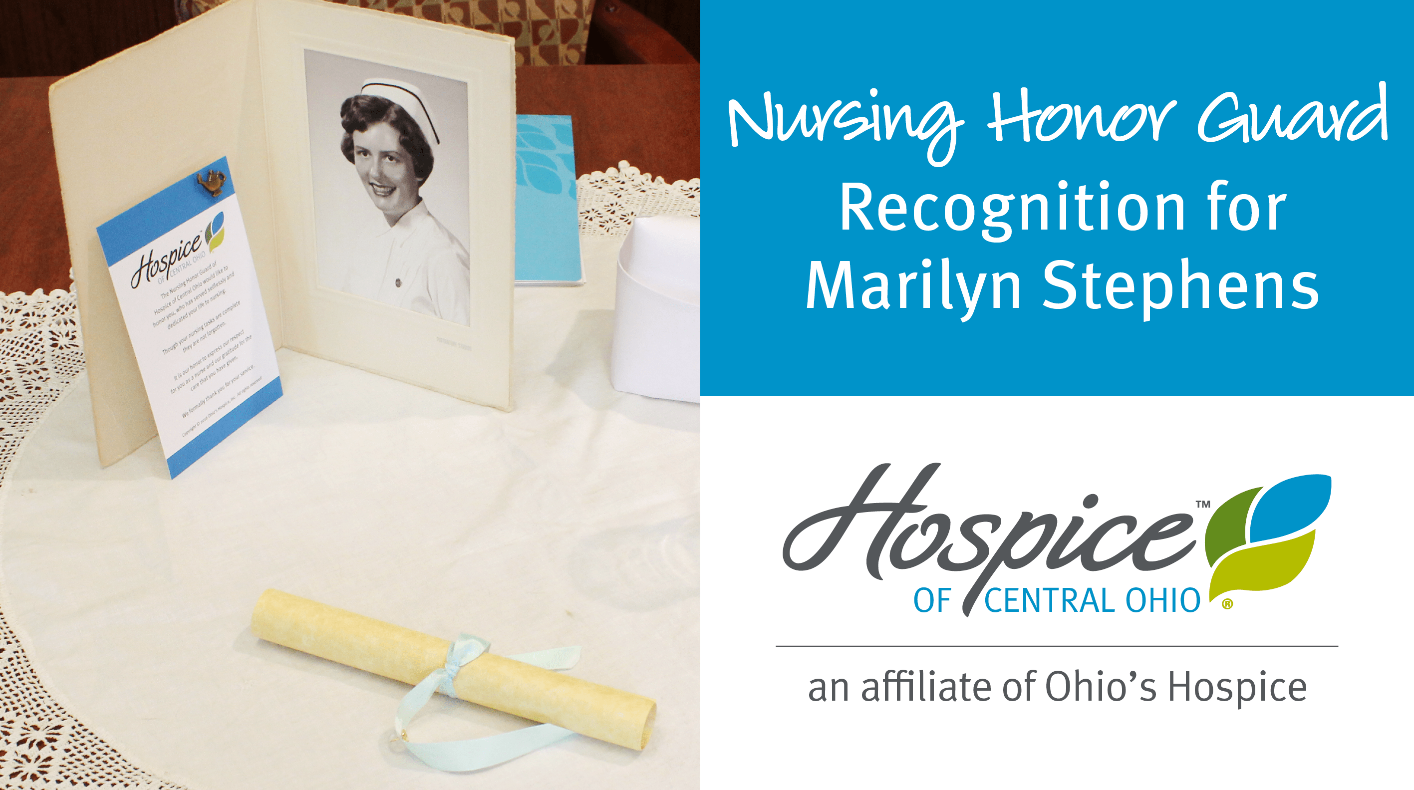 Nursing Honor Guard Recognizes Marilyn Stephens