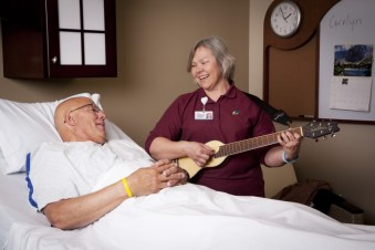 Music therapy and patient