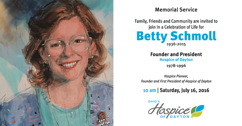 Betty Schmoll Event