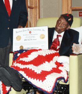 """During Black History Month, we highlight John Lee """"Jack"""" Cooper, who was presented with the Congressional Gold Medal. We honor him at our American Pride Memorial."""