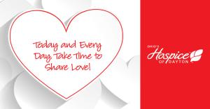 valentines day hospice of dayton