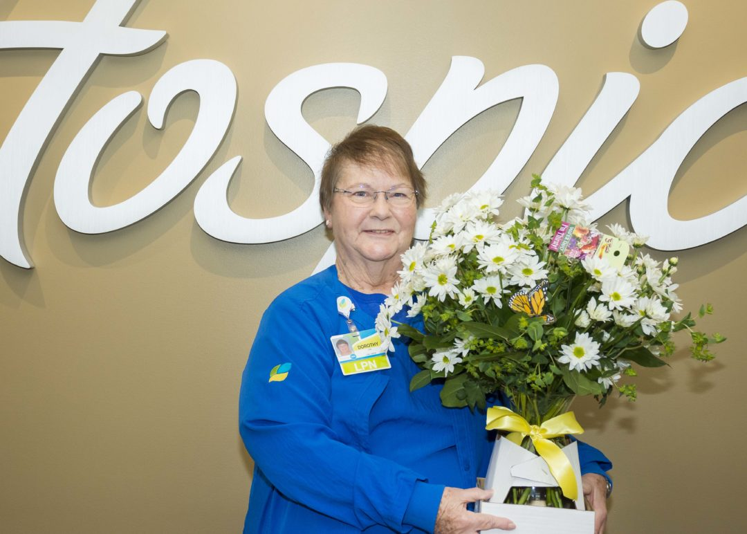 LPN Dorothy Thomas Awarded Daisy Recognition