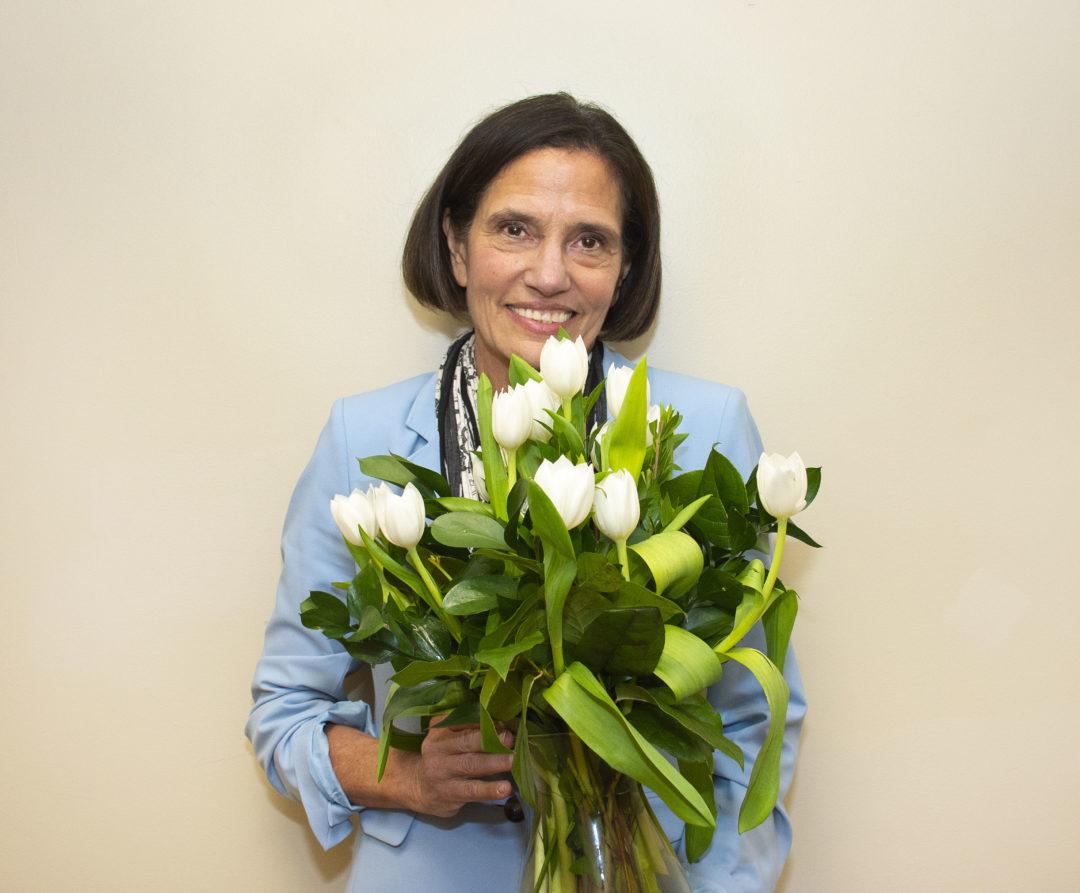 Bonnie Orlins receives Tulip Award