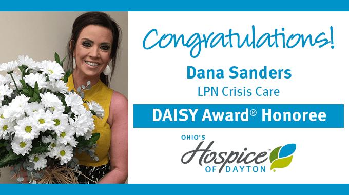 DAISY Award Recipient Dana Sanders