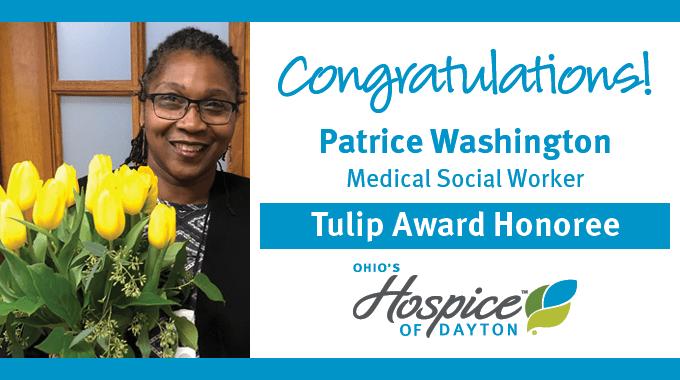 Patrice Washington: Tulip Award Recipient