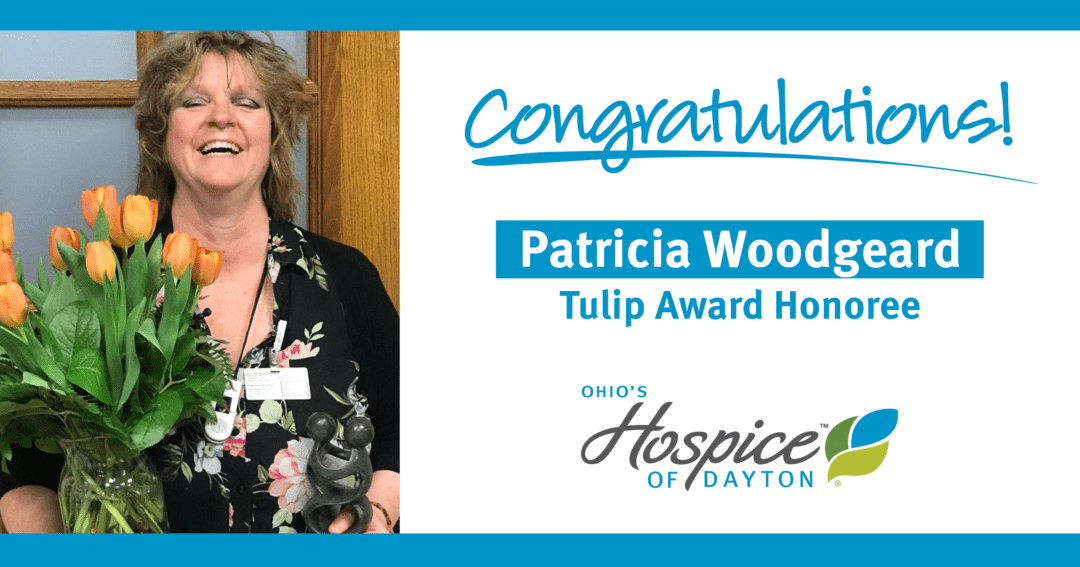 Congratulations To Patricia Woodgeard: Tulip Award Honoree