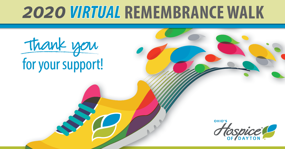 2020 Virtual Remembrance Walk: Thank You For Your Support!