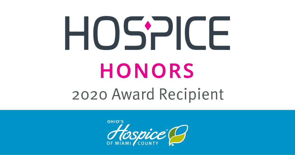 Ohio's Hospice Of Miami County Named A 2020 Hospice Honors Recipient