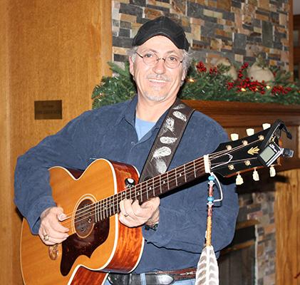 Volunteer With Guitar