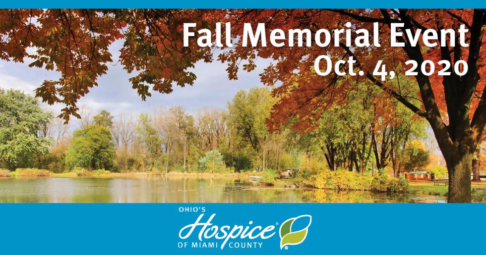 Fall Memorial Event - Oct. 4, 2020