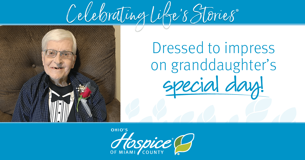 Dressed To Impress On Granddaughter's Special Day!