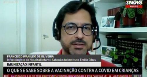 Gerente médico do Sabará conversa com a Globonews sobre Covid-19 em crianças