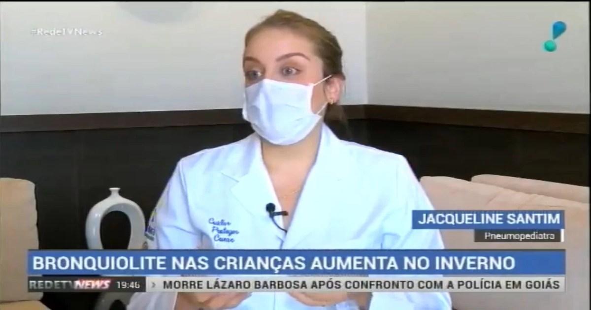 Pneumopediatra fala sobre a diferença entre gripe e bronquiolite na Rede TV!