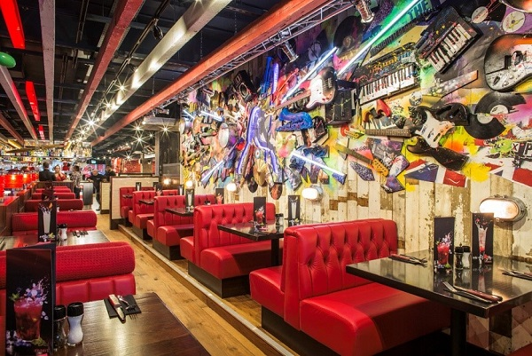 kitchen island with bar chef decor stevenage leisure park to welcome the uk's 75th tgi ...