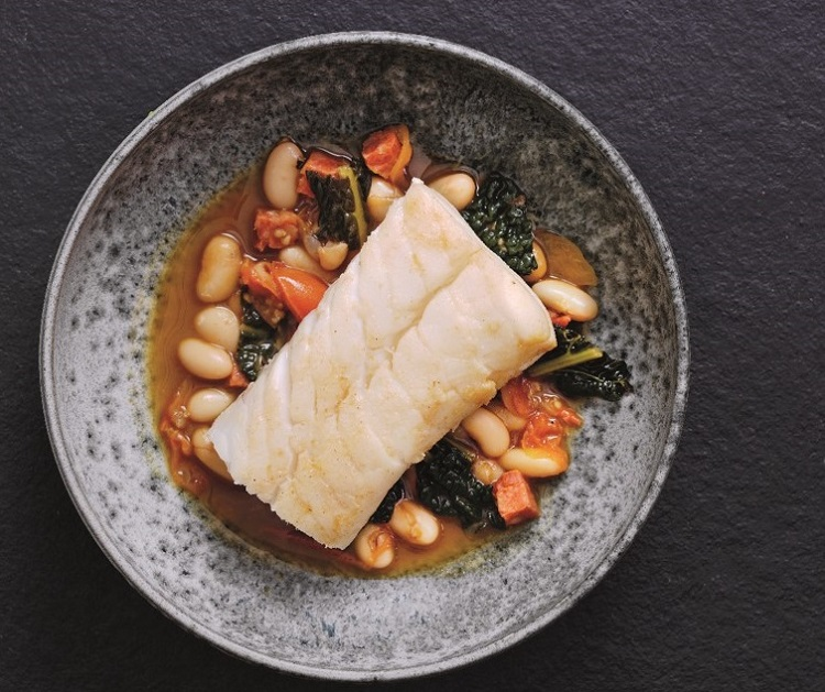 Recipe Michel Roux Jrs Stewed Skrei Cod with Cannellini