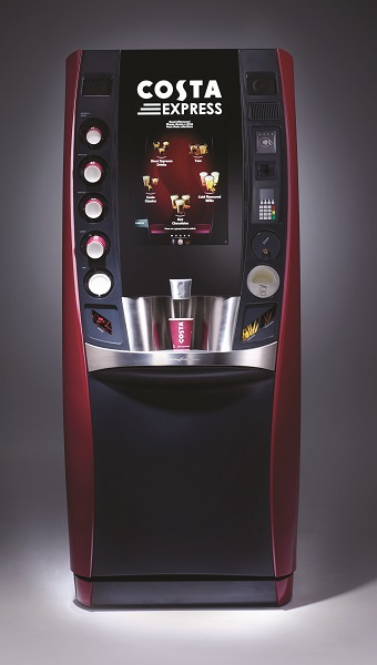 Costa Express revolutionises selfserve coffee with launch