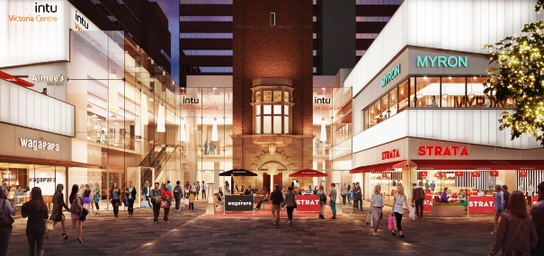 intu plans for catering cluster at Victoria Centre