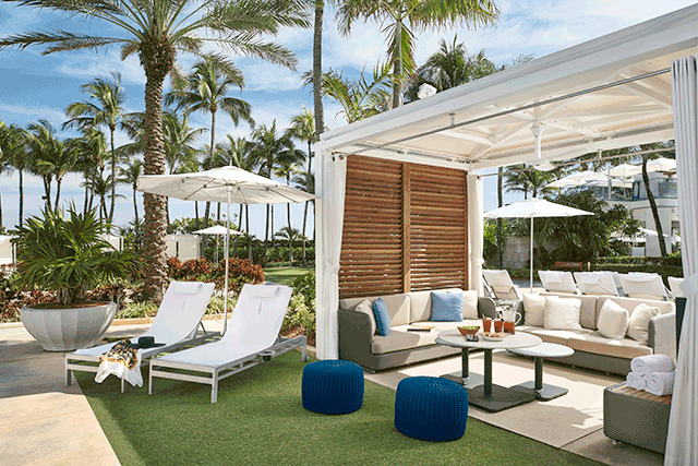 Fontainebleau Miami Beach Debuts Upgraded Tower and Poolside Cabanas  Hospitality Design