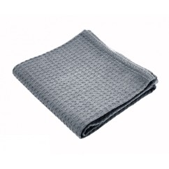 Gray Kitchen Towels Cabinet Doors Replacement Towel Waffle Weave Thick 100 Cotton Grey 14 X 12 Pack