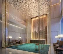 Dubai Luxury Hotel Lobby Interior Design