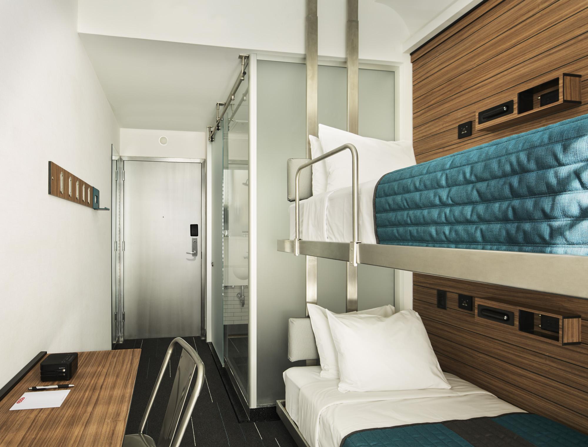 U. Micro-hotel Pioneer Pod Hotels Opens Flagship