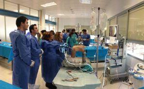 Curso de artroscopia de rodilla en el Hospital Universitario Virgen de la Victoria