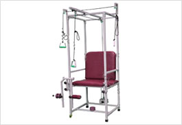 multi gym chair satin sashes uk hospitech multy purpose excerciser exercise physiotherapy and rehabilitation equipment quadriceps is very effective used tool in