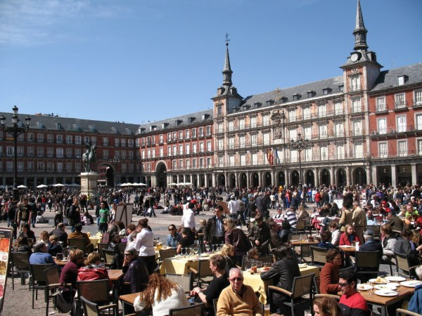 La Plaza Mayor Madrid