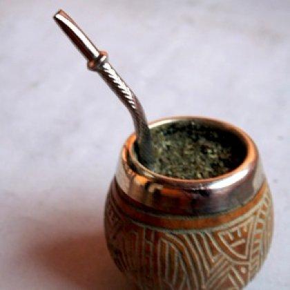 Argentinian mate tea