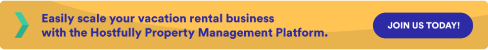 call to action to book a demo for Hostfully PMP