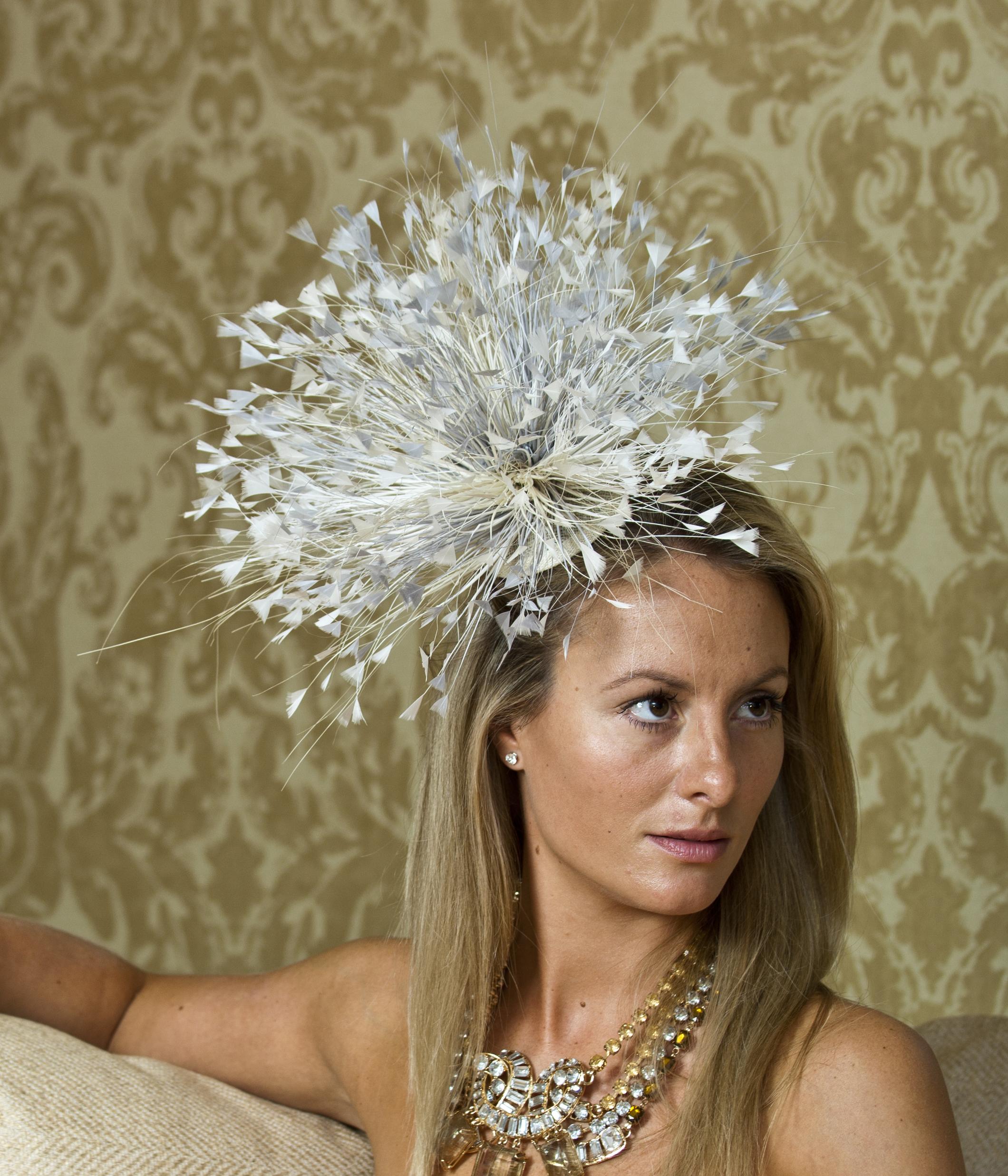 Chelsea Fascinator Hostie Hats