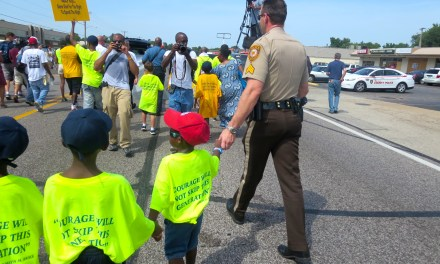 Two weeks after Ferguson protests