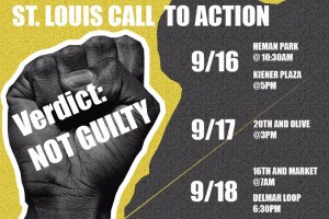 St. Louis mass protest call to action