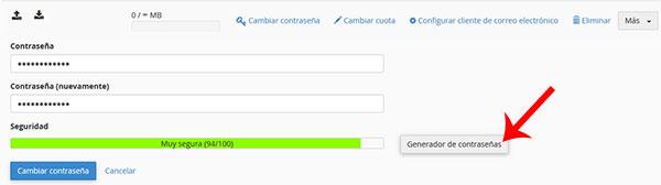 1ª Click -> Generador Contraseña