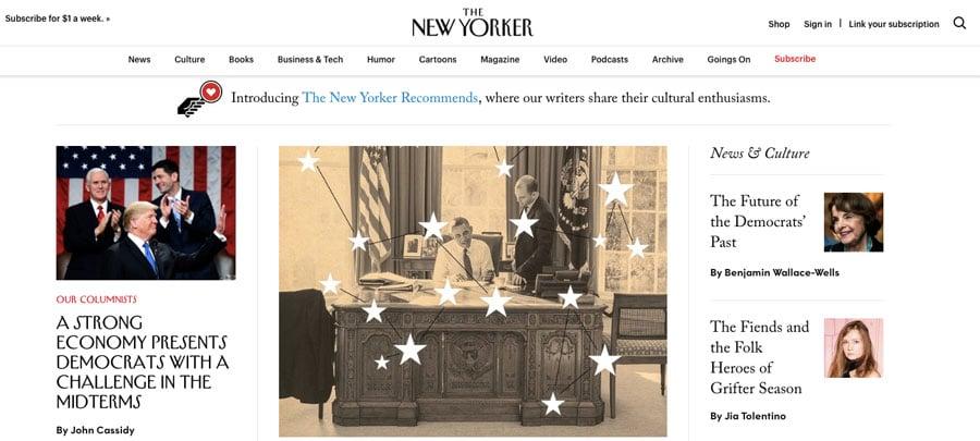 página inicial do site new yorker wordpress - wordpress usado pelo new yorker - O Que é WordPress? Um Panorama do CMS Mais Popular do Mundo