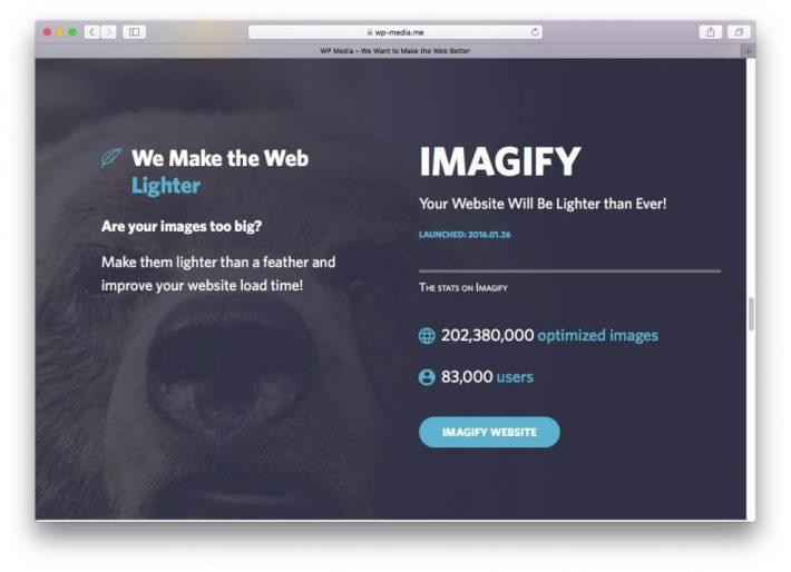 Imagify Image Optimizer Eklentisi