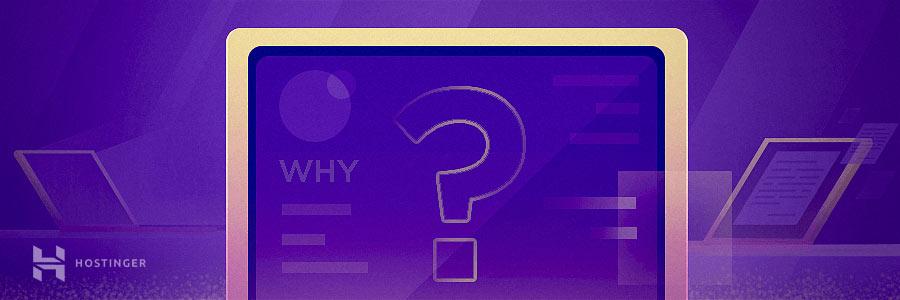 Why start a blog