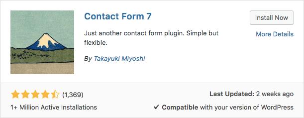 Modulo di contatto 7 plugin